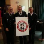 Oberbranddirektor Klaus Maurer, Wehrführer Peter Kleffmann und Landesbreichsführer Hermann Jonas (von links) -  (©D.Frommer)