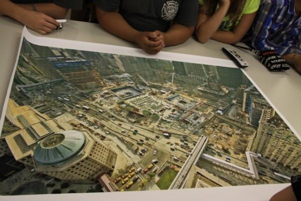 Luftbild von Ground Zero <br>© FF Stellingen<br