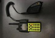 HRT (Handheld radio terminal/ Hand-Sprechfunkgerät) im Profil 2 mit angebautem Handmonophon  Copyright: Sven Koopmann, AG MuK