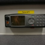MRT (Mobile radio terminal/ Fahrzeugfunkgerät) im GW-FM der Kommunikationswehren Copyright: Sven Koopmann, AG MuK