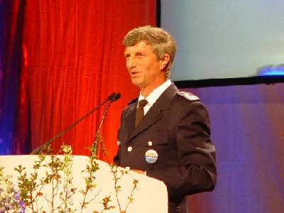 Der langjährige Landesbereichsführer Hermann Jonas  Quelle und Copyright: AG MuK