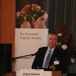 Über Fallstricke bei der sicherheitsgerechten Beschaffung von Feuerwehrausrüstung sprach Jürgen Kalweit, Leiter der Prävention  bei der HFUK Nord