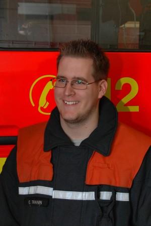 Neuer Bereichswebmaster Bergedorf Christian Timmann von der FF Kirchsteinbek
