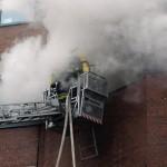 Brandbekämpfung von 13DLK aus (c) H. Lahmann