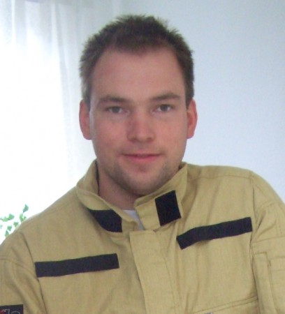Björn Liedtke, Oberbrandmeister Feuerwehr Bielefeld
