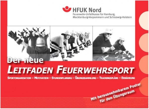 Cover Neuer LEITFADEN FEUERWEHRSPORT  Quelle und Copyright: HFUK Nord