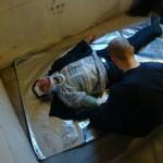 Erstversorgung nach einem Treppensturz