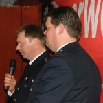 Klaus Stelter bei seinen Worten an die zahlreich erschienenen Gäste