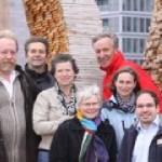 Die Projektgruppe hinter KANN MANN (von links nach rechts): Johann Peter Karnatz, Axel Richter, Erneli Martens, Bettina Moser, Ronald Bendig, Susanne Nissinen, Florian Büh.