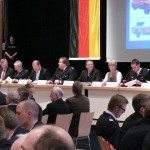 Das Podium (c) AG MuK FF HH