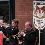 Ausschnitt: Trompeter des Musikkorps aus Bramfeld (c) AG MuK FF HH
