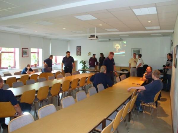 Die Premiere fand in den Räumen der Freiwilligen Feuerwehr Plön statt.  Quelle und Copyright: AG MuK