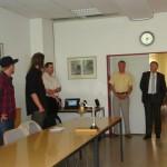 Das Team der HFUK bei der Präsentation des Films  Quelle und Copyright: AG MuK