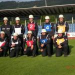 Geschafft! Das Team der FF Wandsbek-Marienthal (© Fro)
