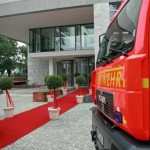 Eingang (ein roter Teppich musste schon sein)