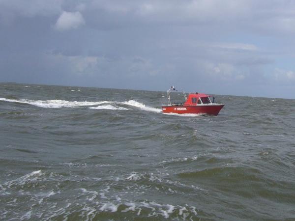 Kleinboot der FF Hamburg-Neuwerk  Quelle und Copyright: FF Cuhaven-Duhnen