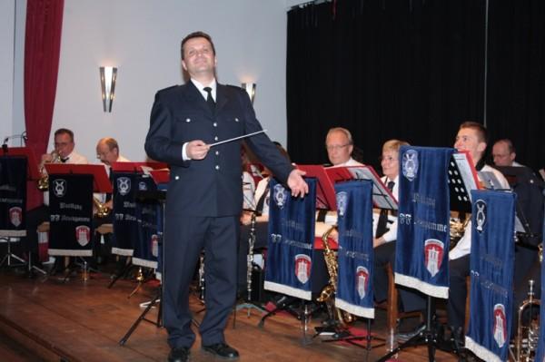 Der Musikzug Neuengamme sorgte für beste Unterhaltung © Erika Löffel