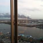Blick aus Richtung Landungsbrücken/Hotel Hafen Hamburg (c)Torsten Kägler