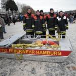 Das Team der FF Curslack mit Bereichsführer Harburg (© D.Frommer)