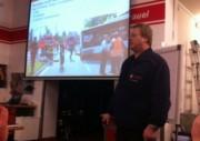 Dozent Uwe Lewerenz, Sachgebietsleiter für die Unfallsachbearbeitung der Feuerwehr Hamburg