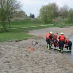 FF Grünhof-Tesperhude bei der Wasserrettung