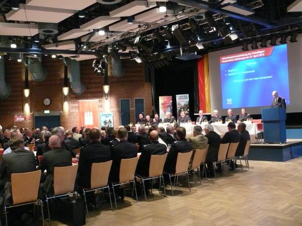 BerF/V Peter Wegemer führte durch die Agenda des Abends (c) MT - AG MuK