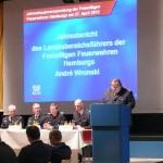 LBF Andre Wronski bei seiner Rede (c) MT - AG MuK