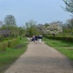 Idyllisch durch die Kleingärten am Borndiek (c) P. Toepfer JFO