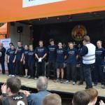 Sonderehrung für den außer Konkurrenz gestarteten Grundausbildungslehrgang 2012 des Bereichs Eimsbüttel (c) P. Toepfer JFO