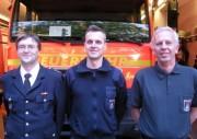 Von links: Jörg Schultze-Scheer, Oliver Knabjohann, Dieter Frommer (Foto: E.Kaminski)