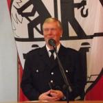 Werner Burmester freute sich sehr über die zahlreichen Gäste