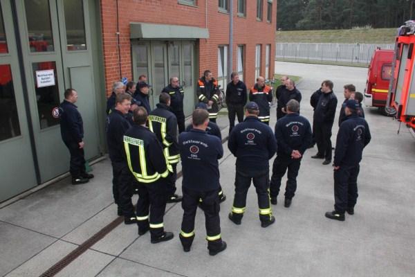 (C) Presse- und Öffentlichkeitsarbeit Gorleben GNS, Kennlernrunde der FF Stellingen und der Werkfeuerwehr