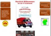 neue Homepage der FF Eidelstedt