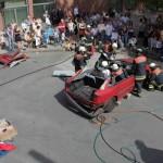 Patientengerechte Rettung aus einem PKW  18.08.2012