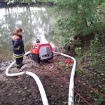 Wasserentnahme aus offenem Gewässer