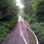 Lange Wege waren zu überbrücken...