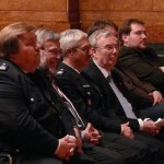 LBF Wronski, StR Schiek, OBD Maurer, LtdBD Dr. Rechenbach, Vertreter der Deputation (v.l.n.r.) (c) AG MuK