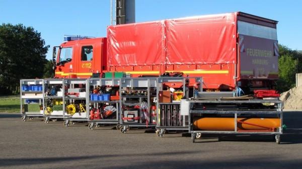 Die Ausrüstung der FF Warwisch ist speziell für die schwere technische Hilfeleistung ausgelegt.  (c) Johannes Engmann