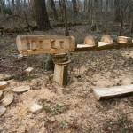 Manches Kunstwerk ist nun im Wald zu finden. (c) MT FFO/AG MuK