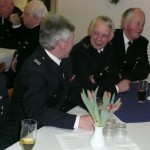 Am Tisch der FF Kirchwerder-Nord