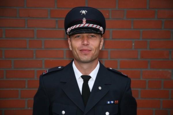Neuer Wehrführervertreter Mathias Baack