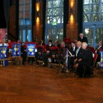 Dieses Jahr kam die musikalische Untermalung von der FF Fischbek. (c) AG MuK FF Hamburg