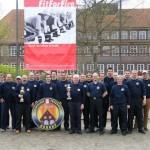 Die siegreiche Mannschaft der FF Osdorf mit 22 Teilnehmern von 28 Wehrmitgliedern (=78,6%)(c) AG MuK FF HH