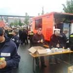 Versorgung der Kräfte mit dem Gerätewagen-Versorgung der FF Ottensen-Bahrenfeld