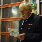 HBM W.Timm (87), ältester Kamerad der FF Schnelsen (© B.Frommer)