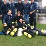 Gemeinsame Sache: Kameraden der Feuerwehr Meerbusch und Hamburg