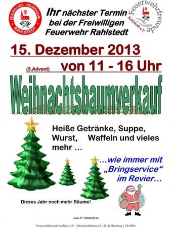 Weihnachtsbaumverkauf der ff rahlstedt freiwillige feuerwehr hamburg - Weihnachtsbaumverkauf hamburg ...