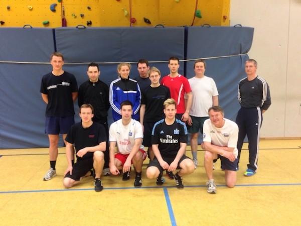 Angehende Sportübungsleiter und hauptverantwortlicher Sportlehrer von F0542