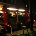 (C) FF Willhelmsburg: 1. Löschfahrzeug im Einsatz