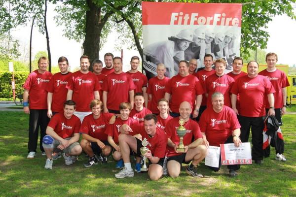 Strahlende Sieger die FF Boberg (c) FF Rönneburg
